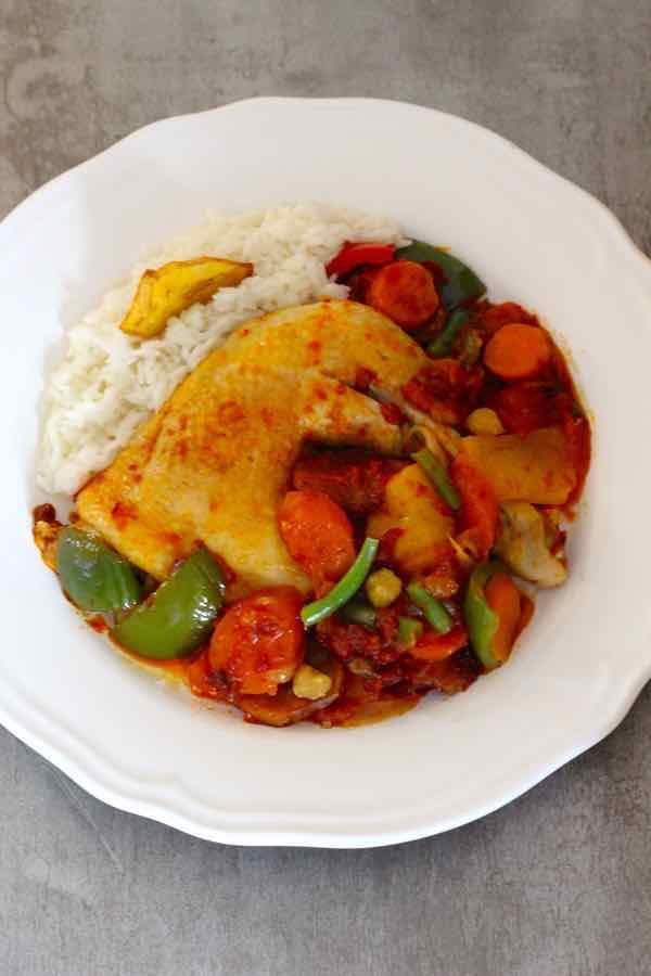 receta de Camerún