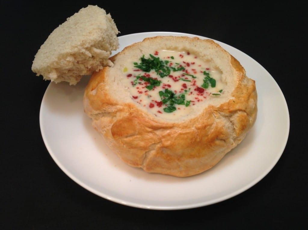 kosher clam chowder