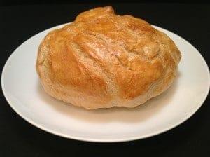 golden bread bowl