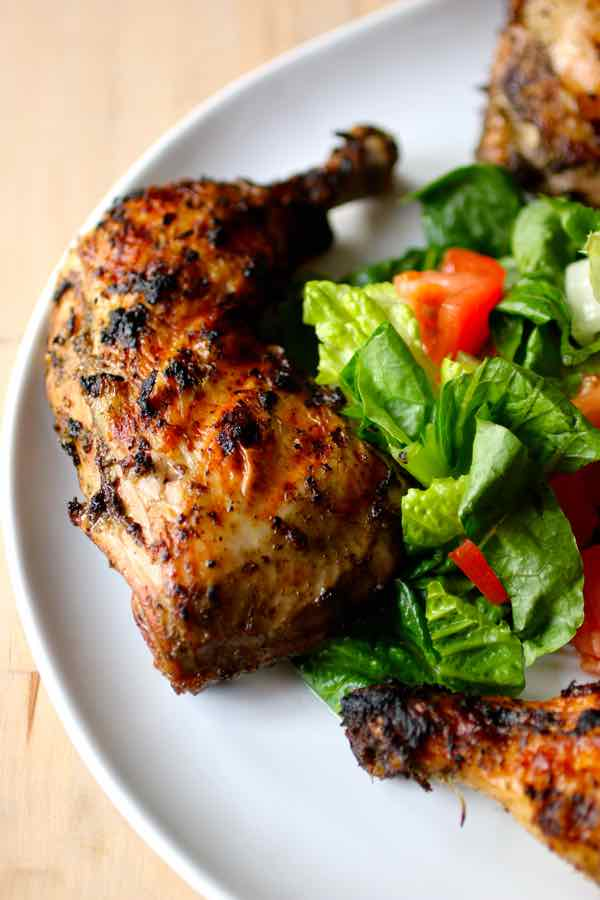 poulet jerk jamaïcain