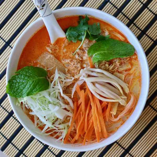 Khao Poon (Kapoon) - Traditional Soup from Laos | 196 flavors