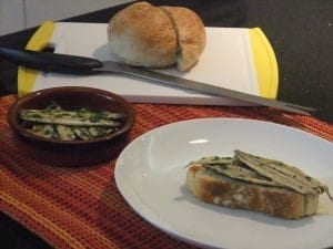 homemade boquerones
