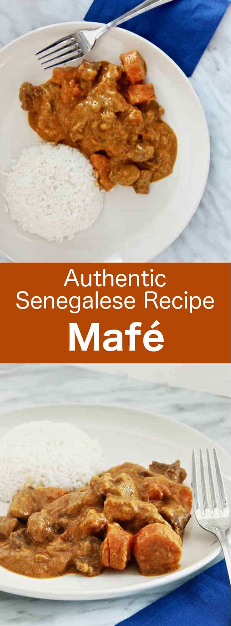 Mafé is a traditional West African recipe that consists of a beef stew cooked in peanut butter and tomatoes. #WestAfrica #Senegal #WestAfricanCuisine #WestAfrican #WorldCuisine #196flavors