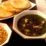 Egypt: Mlokhia Soup and Shami Bread