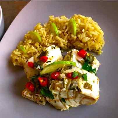 Cod Blaff Amp Rice Pilaf Caribbean Recipe 196 Flavors
