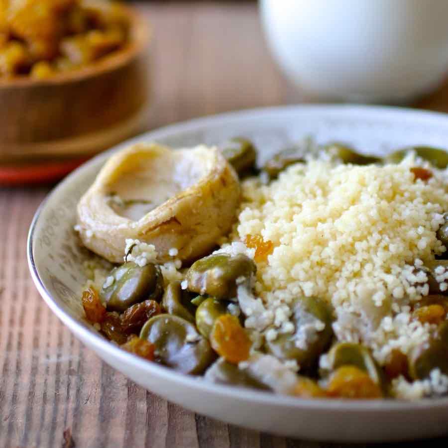 Couscous au beurre recette juive alg rienne 196 flavors for Cuisine juive