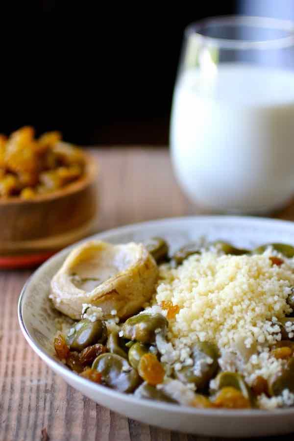 couscous au beurre