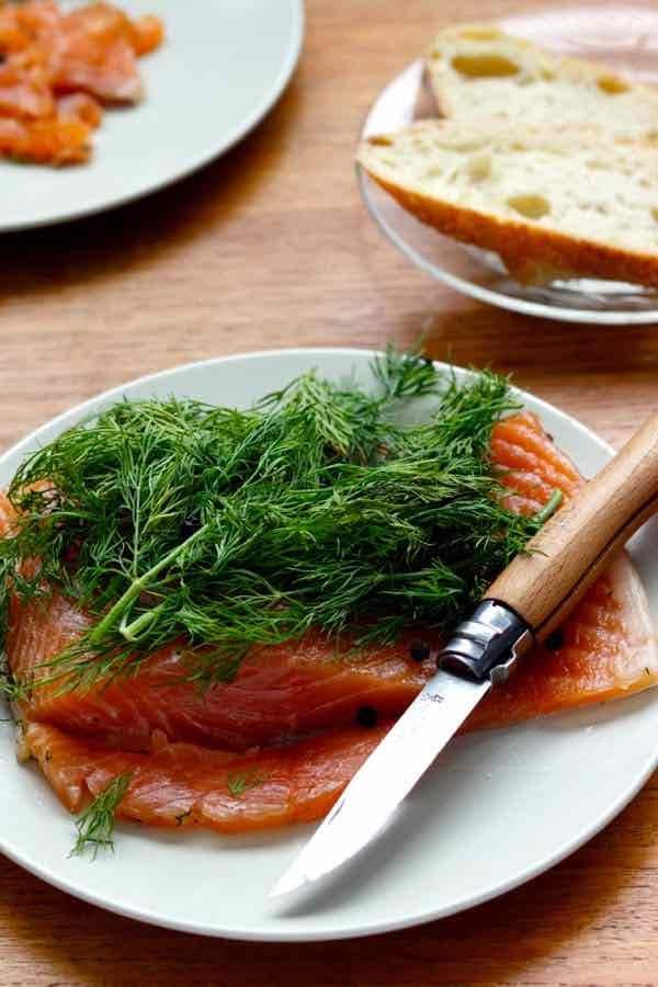 gravlax recipe