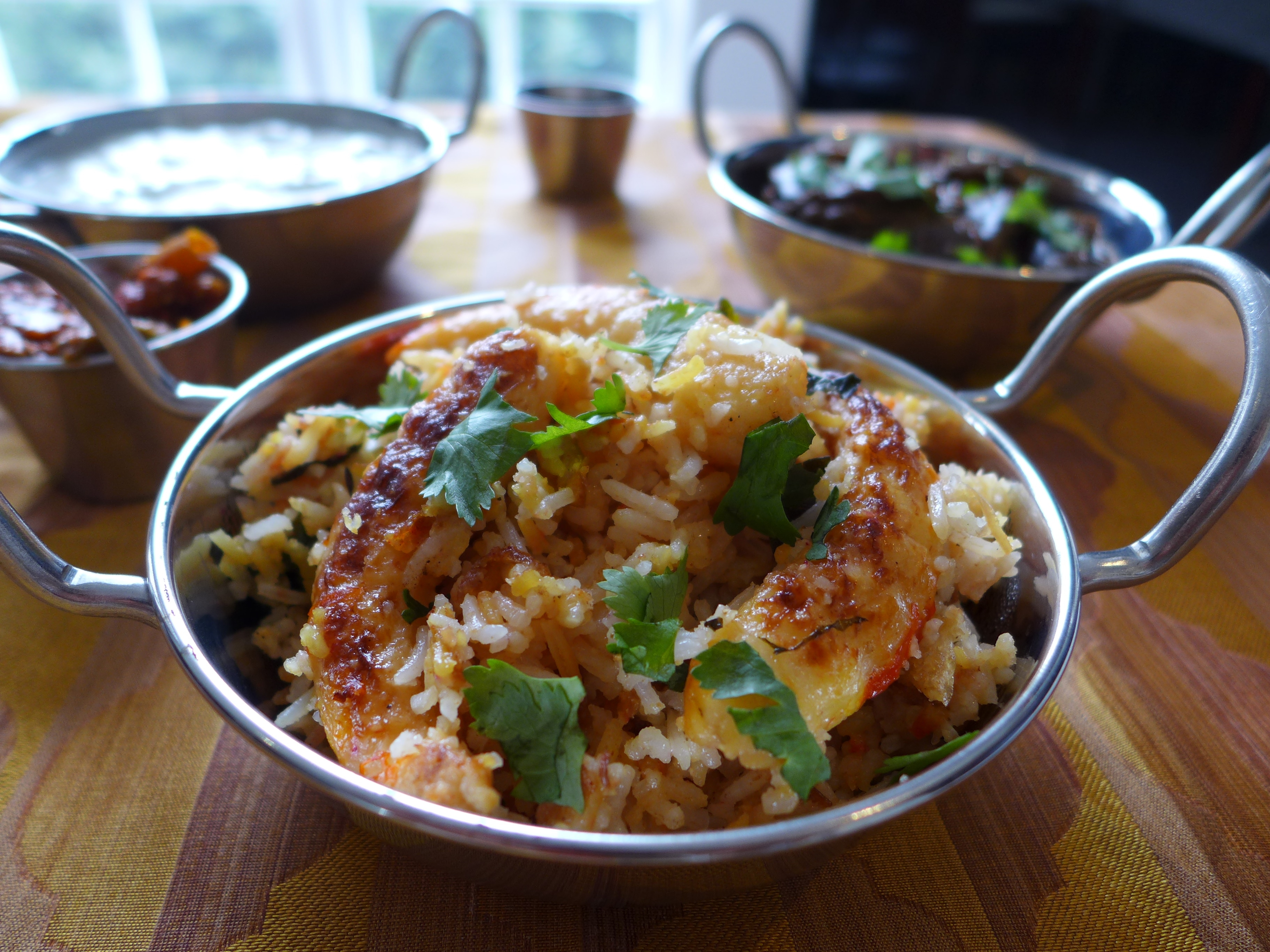 Shrimp Biryani - Authentic Indian Recipe | 196 flavors