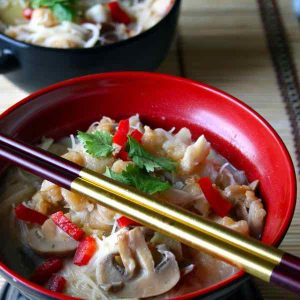Singapore: Yue Tow Mai Fun (Fish head beehoon soup)
