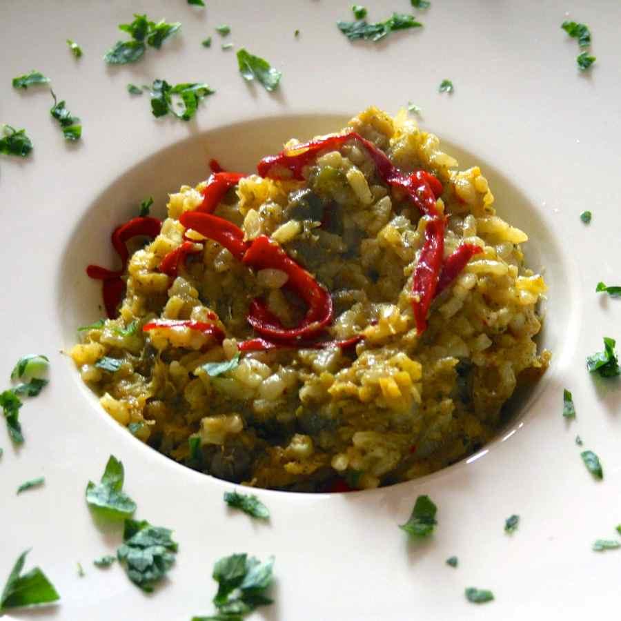 Arroz con bacalao recette traditionnelle de panama 196 - Arroz con bacalao desmigado ...