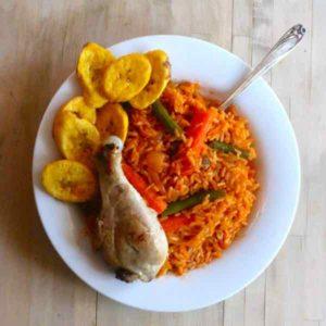 Mali: Jollof rice