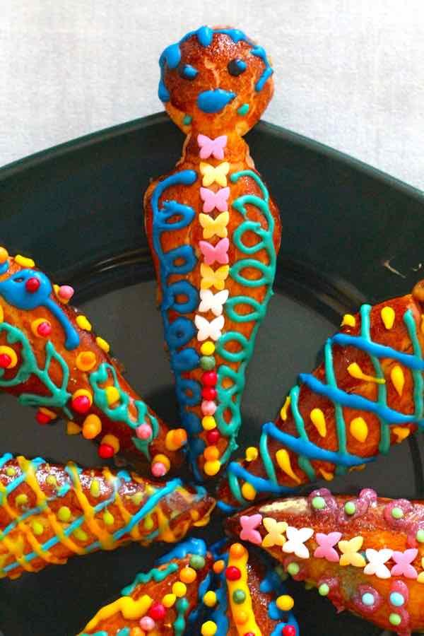guaguas de pan equatoriens