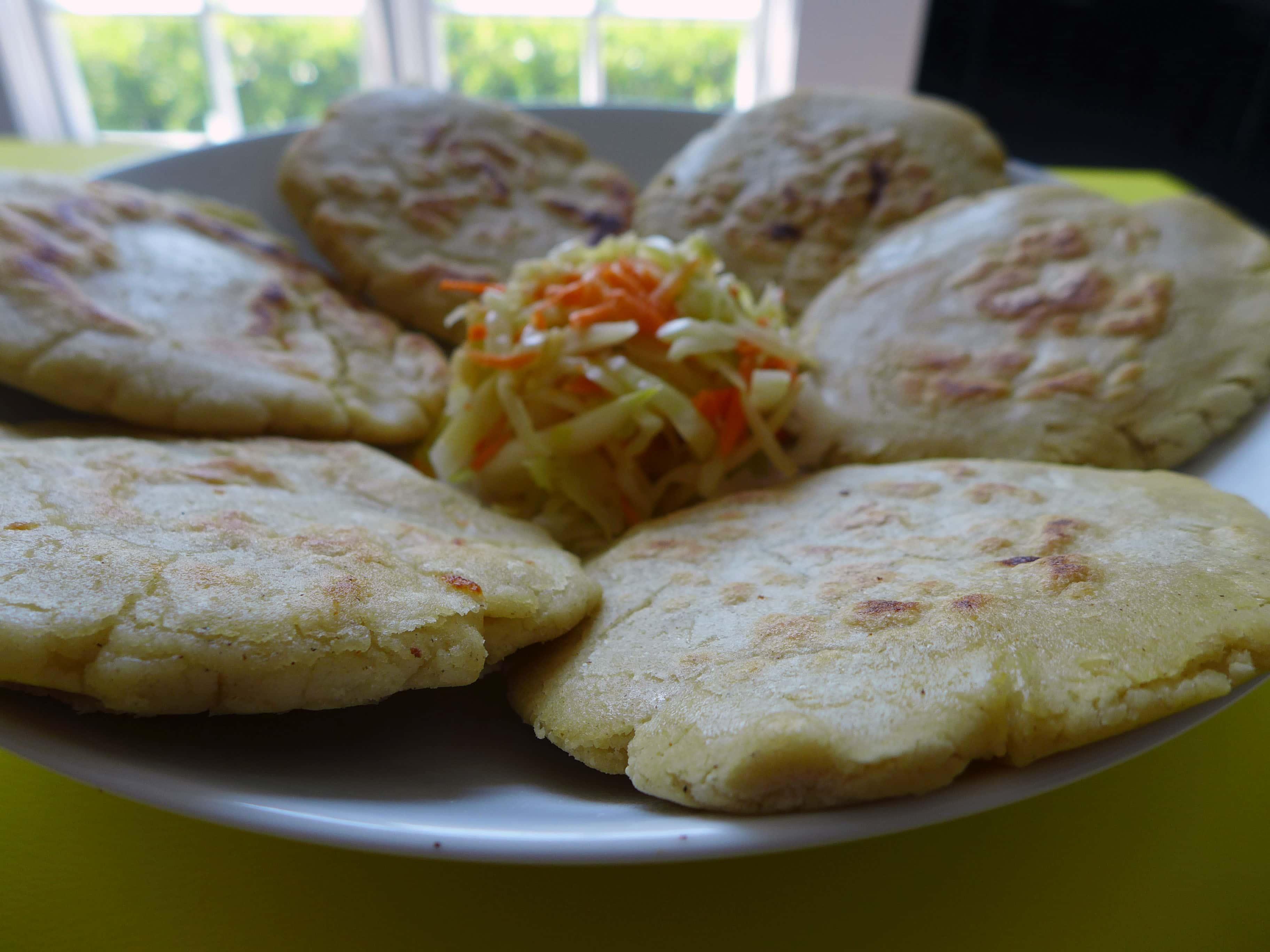 Pupusas and Curtido - Salvadorian Recipe | 196 flavors