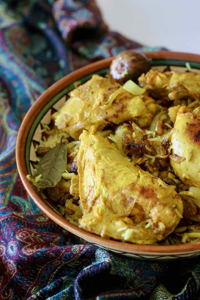 traditional chicken majboos