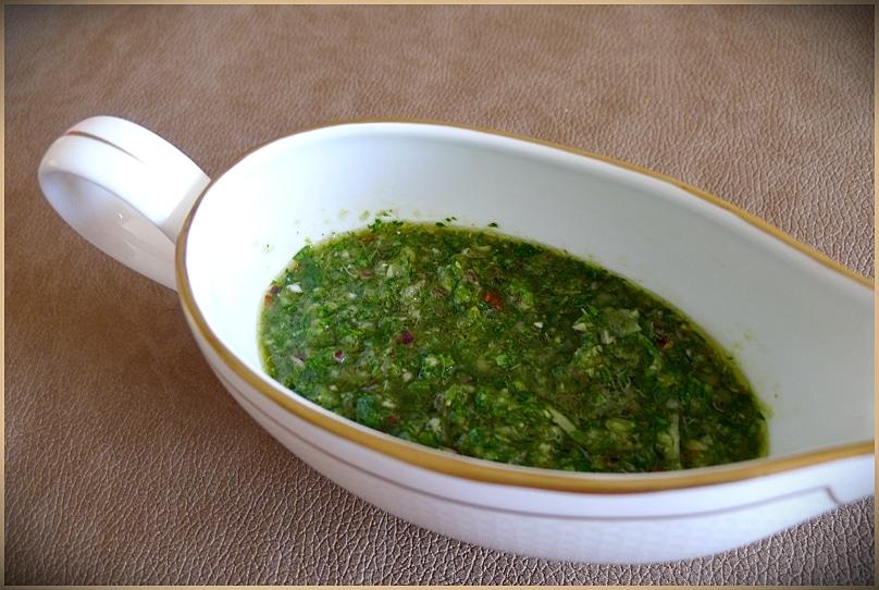 Sauce Chimichurri - Recette Argentine |196 flavors