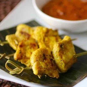 Brunei: Chicken Satay