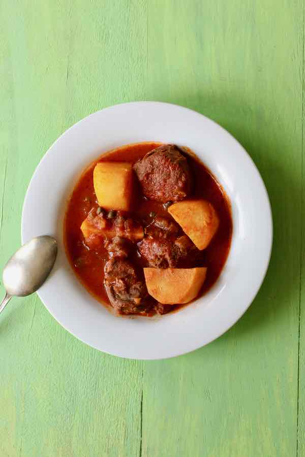 patates et viande