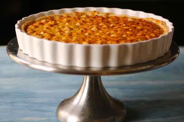 pastel de macadamia