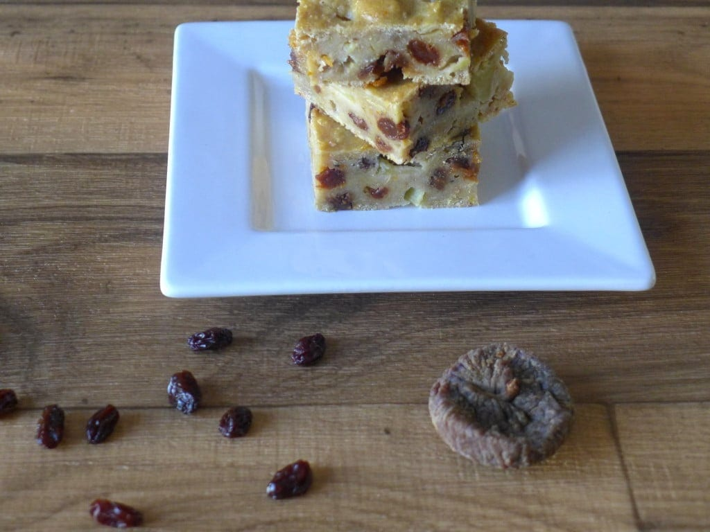 bustrengo stack with fig raisins