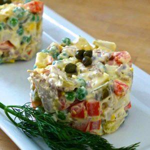 Russia: Olivier Salad