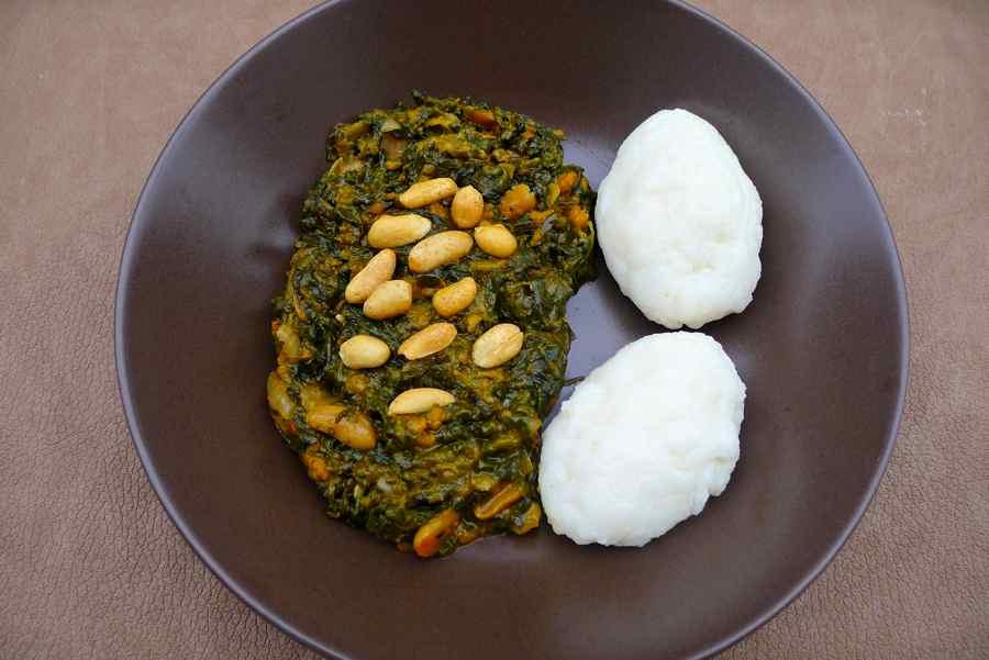 Ifisashi nshima authentic zambian recipe 196 flavors zambia ifisashi nshima forumfinder Gallery