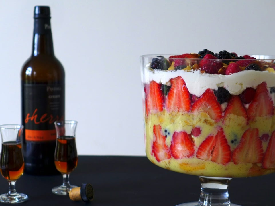 Trifle and Sherry