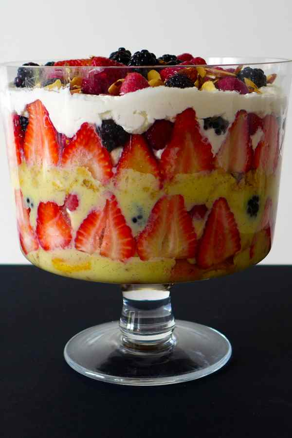Trifle Authentic English Recipe 196 Flavors