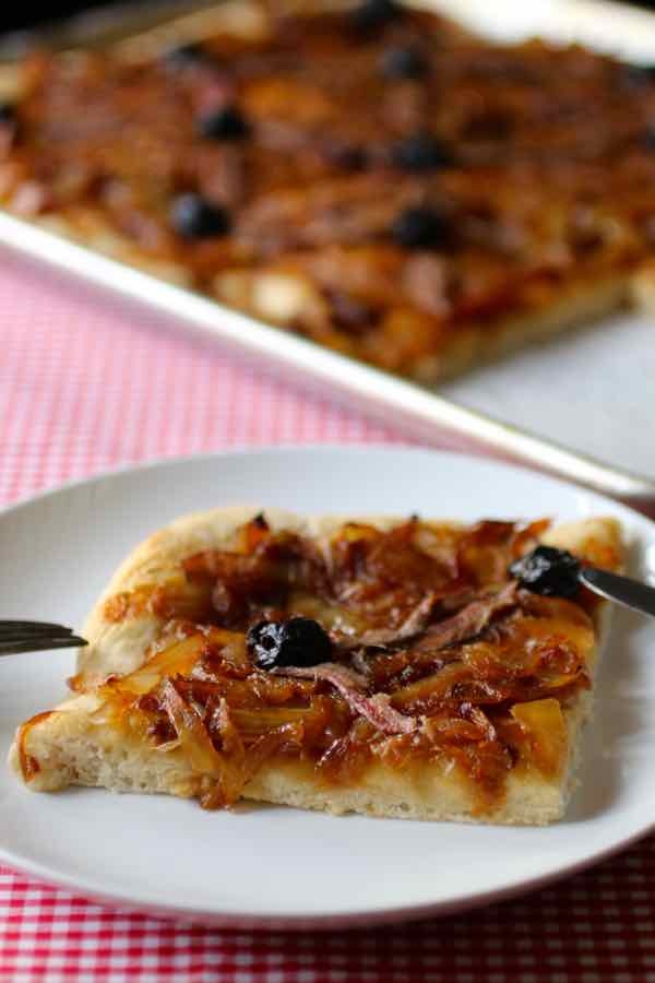 authentic pissaladiere