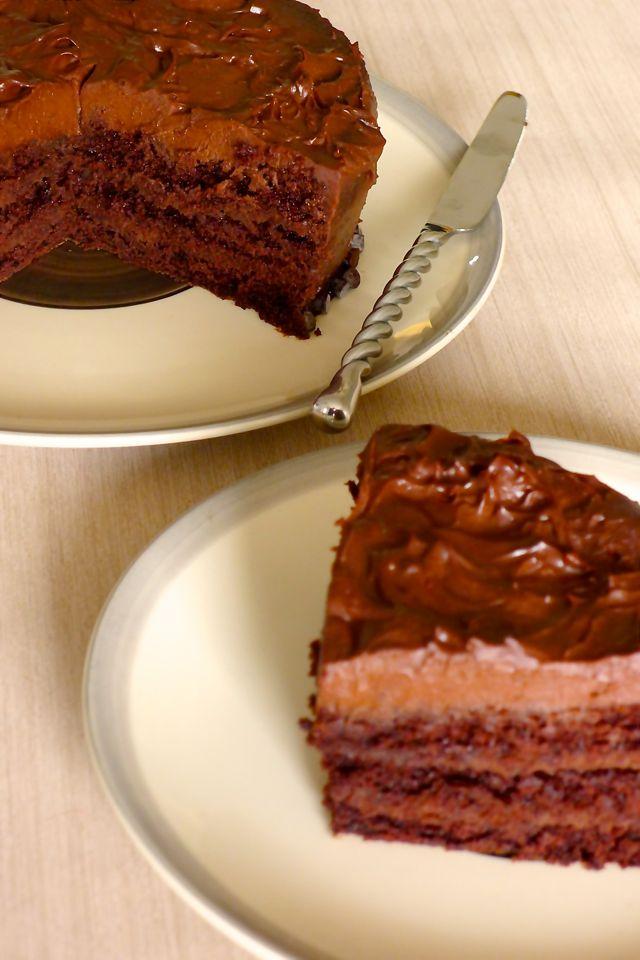 United States: Devil's food Cake