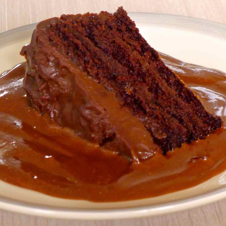 U S Cooking: Devil's Food Cake - Traditional American Recipe