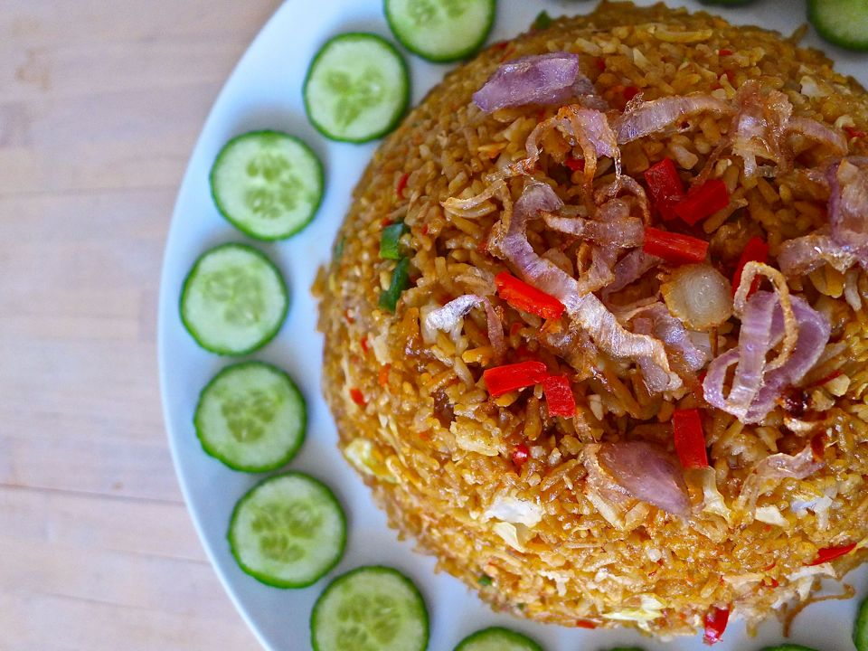 authentic nasi goreng