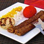 Iran: Chelo Kabab Koobideh