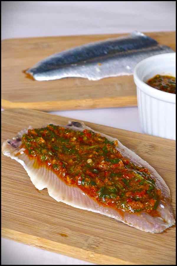 sardines mariees