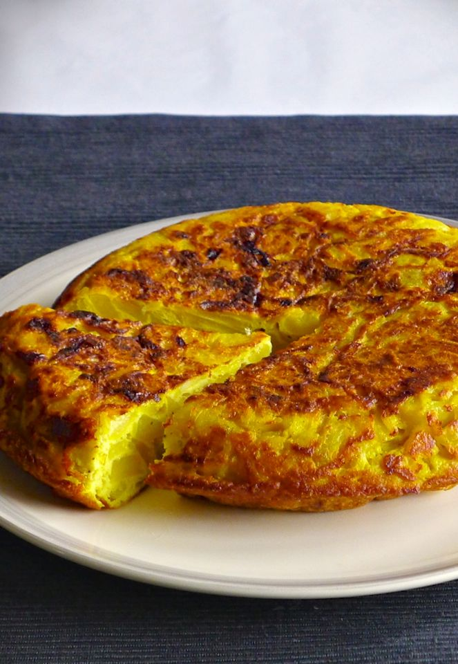 authentic Spanish tortilla