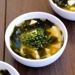 Japon : Soupe Miso