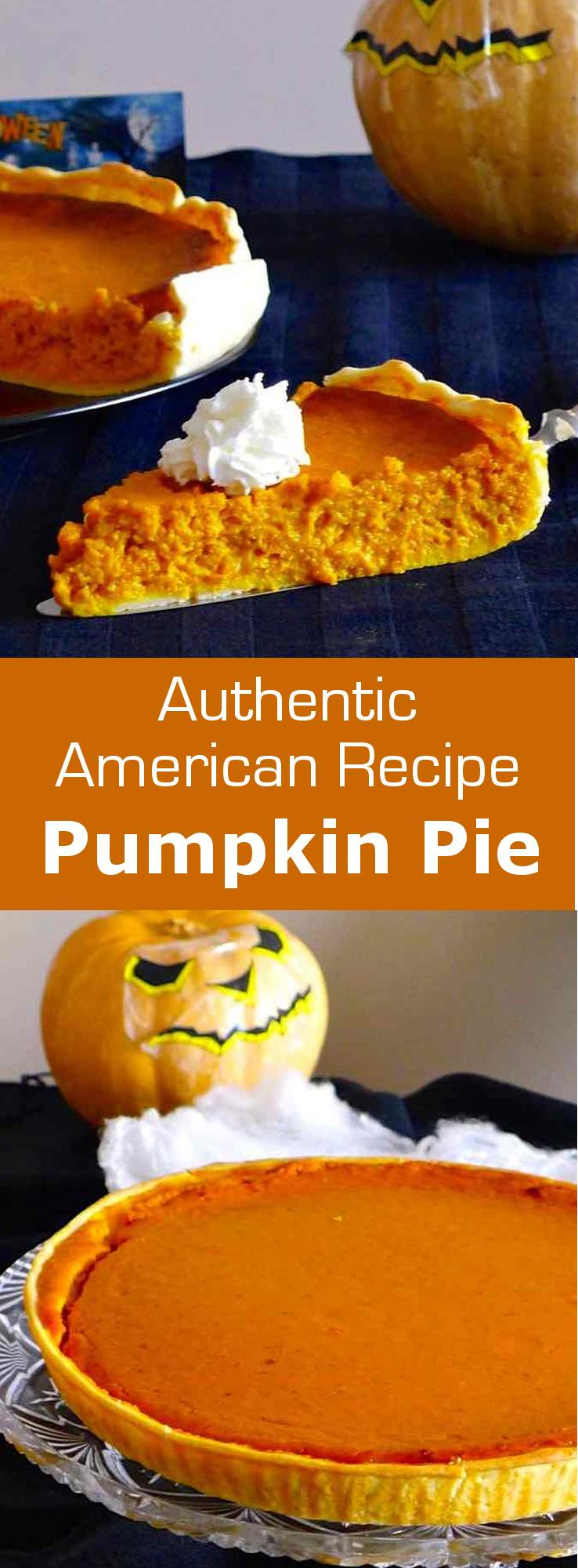 Pumpkin pie is a North American specialty that is traditionally eaten at Halloween and Thanksgiving. #thanksgiving #unitedstates #usa #196flavors