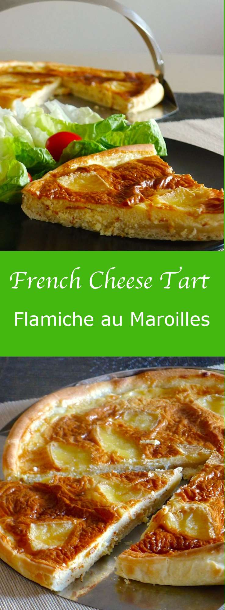 Flamiche au Maroilles, a traditional recipe from the North of France was born on a day when a woman went to Dinant to sell her farm products at the market.
