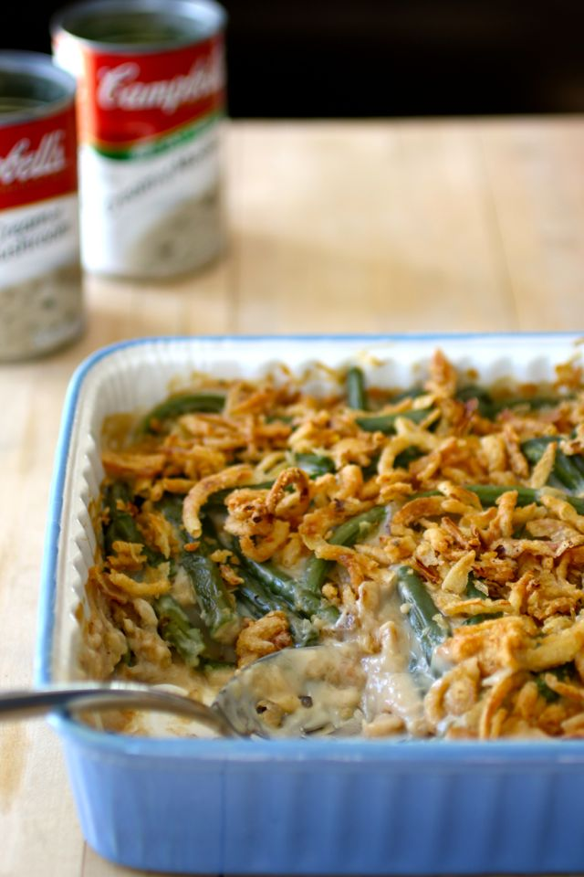 authentic Green Bean Casserole