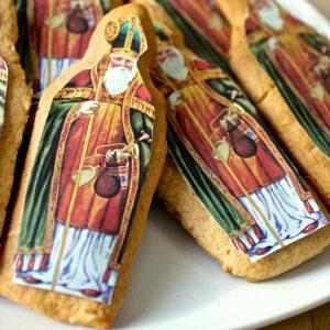 France: Saint Nicholas Gingerbread Cookies