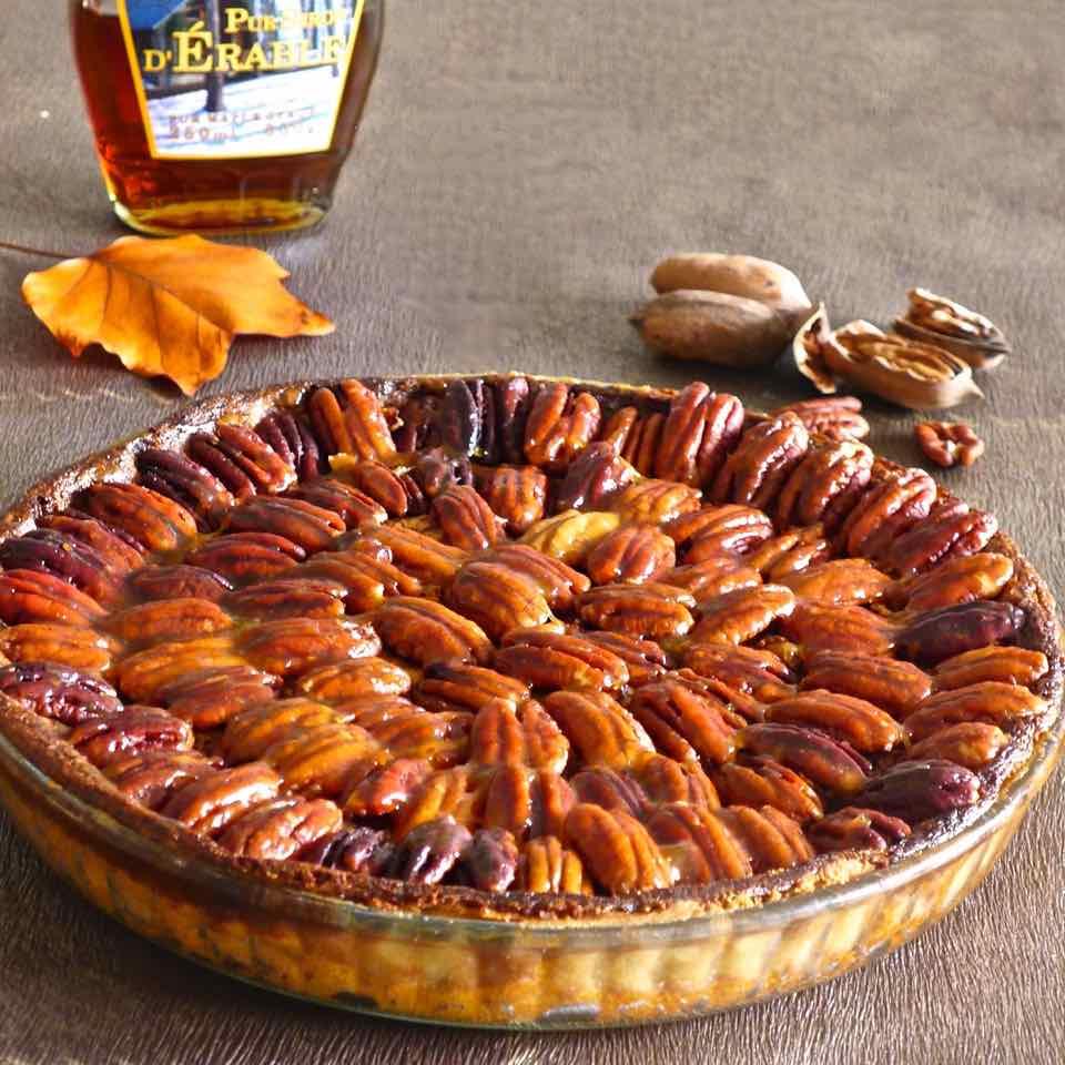 pecan pie recette authentique am ricaine 196 flavors. Black Bedroom Furniture Sets. Home Design Ideas