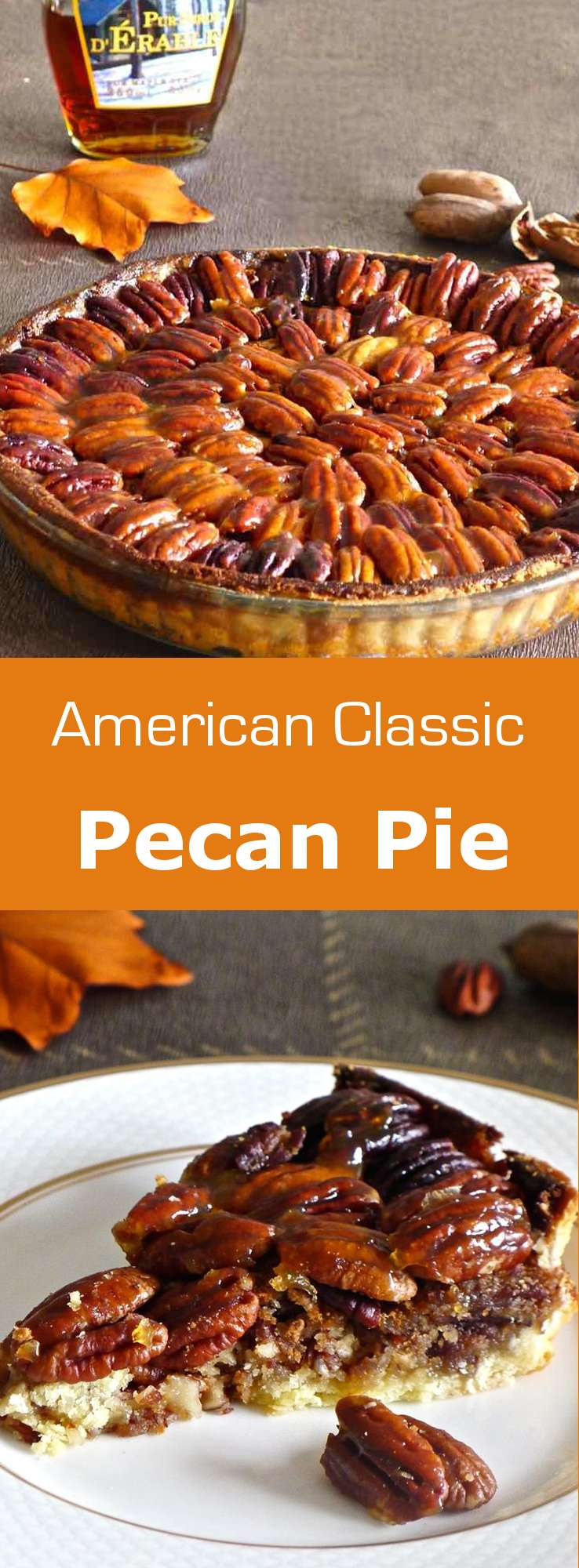 Some attribute the origin of pecan pie to Louisiana, while others claim the recipe was entirely invented by Karo to promote their corn syrup. #dessert #pie #american #thanksgiving #196flavors