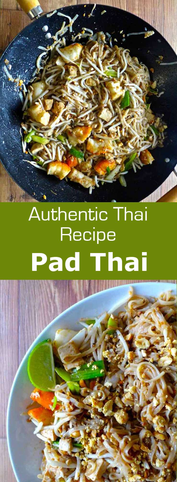Pad thai (ผัดไทย) is probably the most famous Thai dish around the world but it is also one of the least traditional dishes in Thai cuisine. #thailand #196flavors