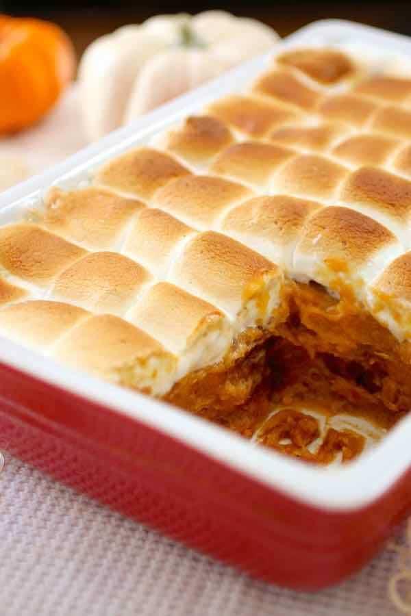 casserole de patate douce
