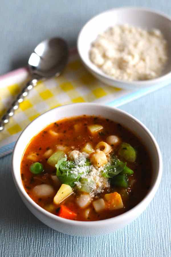 authentic minestrone