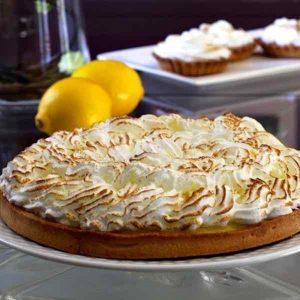 tarte au citron meringuee