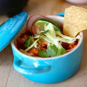 Mexico: Red Chicken Pozole