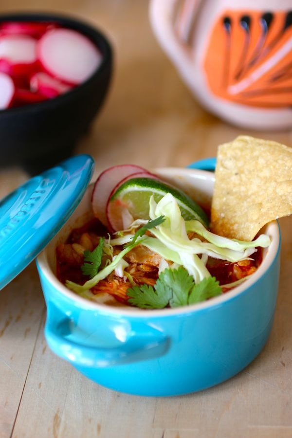 Red Chicken Pozole - Authentic Mexican Recipe | 196 flavors