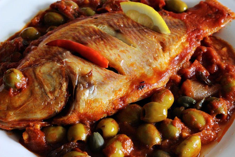 Huachinango a la veracruzana recipe 196 flavors for Fish veracruz recipe