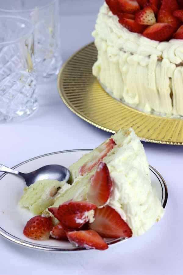 recette fraisier suédois